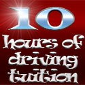 10 hours of driving tuition