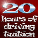 20 hours of driving tuition