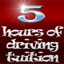 5 hours of driving tuition