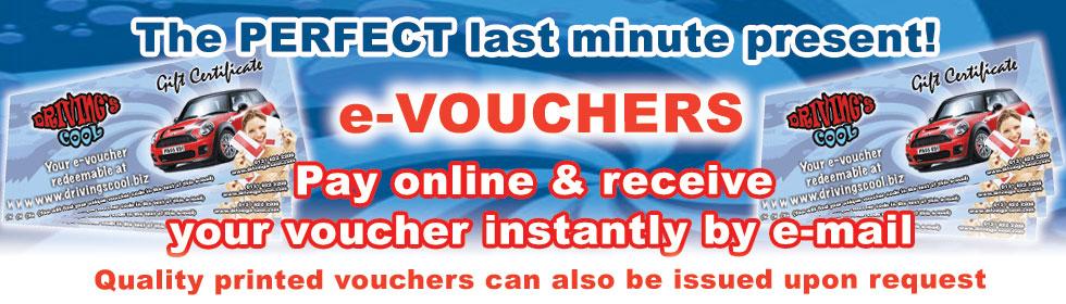 e-voucher + link